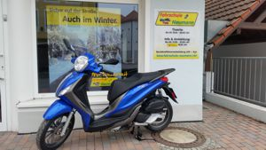 Roller Piaggio 125 mit ABS